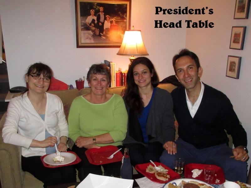 Presidential Dining